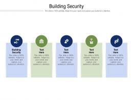 Building Security Ppt Powerpoint Presentation Infographics Objects Cpb