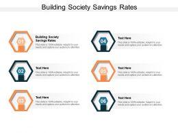 Building Society Savings Rates Ppt Powerpoint Presentation Inspiration Slideshow Cpb