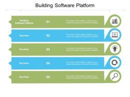 Building Software Platform Ppt Powerpoint Presentation Summary Template Cpb