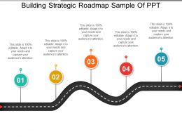 Building Strategic Roadmap Sample Of Ppt