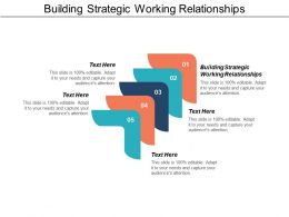 Building Strategic Working Relationships Ppt Powerpoint Presentation Icon Example Introduction Cpb