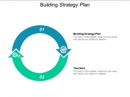 Building Strategy Plan Ppt Powerpoint Presentation Icon Deck Cpb