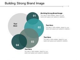 Building Strong Brand Image Ppt Powerpoint Presentation Layouts Structure Cpb