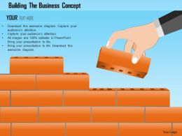 Building The Business Concept Powerpoint Template