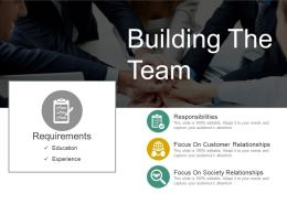 Building The Team Powerpoint Themes