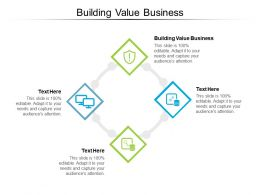 Building Value Business Ppt Powerpoint Presentation Show Outline Cpb
