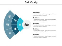 Built Quality Ppt Powerpoint Presentation Slide Cpb