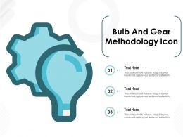 Bulb And Gear Methodology Icon