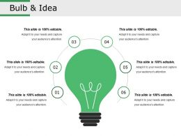 Bulb And Idea Presentation Outline