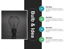 Bulb And Idea Systems Design Ppt Styles Templates