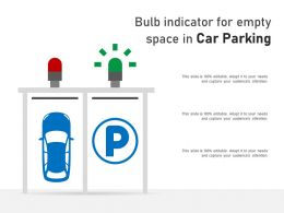 Bulb Indicator For Empty Space In Car Parking