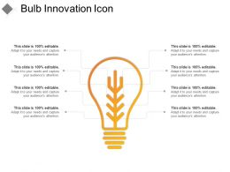 Bulb Innovation Icon