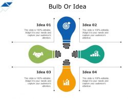 Bulb Or Idea Detailed Analysis Of New Product