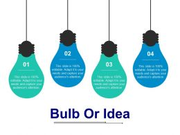 Bulb Or Idea Escalation Matrix Innovation Technology Marketing