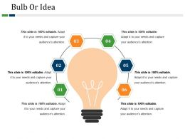 Bulb Or Idea Powerpoint Guide