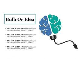 Bulb Or Idea Powerpoint Slide Themes