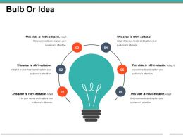 Bulb Or Idea Powerpoint Templates 1