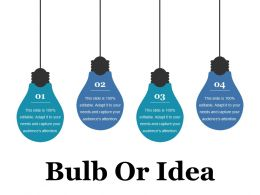 Bulb Or Idea Ppt File Portfolio