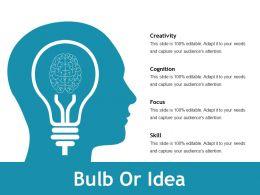 Bulb Or Idea Ppt File Styles