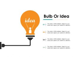 Bulb Or Idea Ppt Gallery File Formats