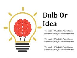 Bulb Or Idea Ppt Images Template 2