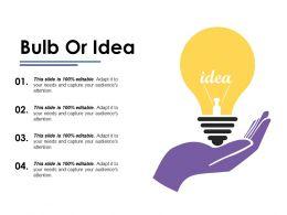 Bulb Or Idea Ppt Portfolio Designs Download