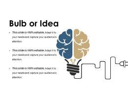 Bulb Or Idea Ppt Show