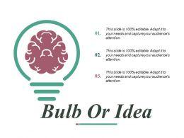 Bulb Or Idea Ppt Slides Design Inspiration