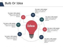 Bulb Or Idea Ppt Slides Graphic Images