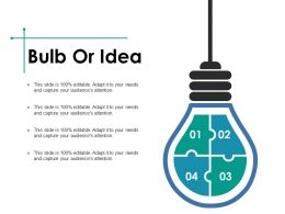 Bulb Or Idea Ppt Slides Graphic Tips