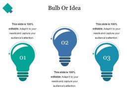 Bulb Or Idea Ppt Styles