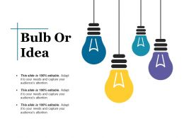 Bulb Or Idea Ppt Styles Format