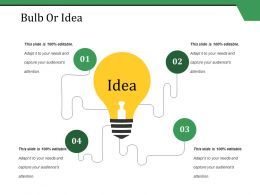 Bulb Or Idea Ppt Styles Layouts