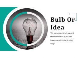 Bulb Or Idea Presentation Outline