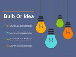 73828862 Style Variety 3 Idea-Bulb 4 Piece Powerpoint Presentation Diagram Infographic Slide