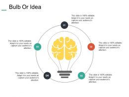 Bulb Or Idea Technology I94 Ppt Powerpoint Presentation Model Graphics Pictures
