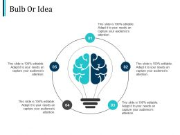 Bulb Or Idea Technology Ppt Pictures Design Templates