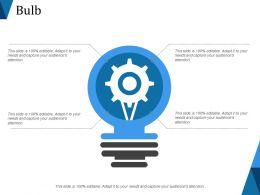 Bulb Powerpoint Presentation