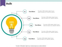 Bulb Powerpoint Slide Images