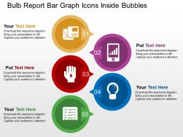 bulb_report_bar_graph_icons_inside_bubbles_flat_powerpoint_design_Slide01