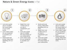 Bulb Solar Plate Oil Tanker Flammable Ppt Icons Graphics