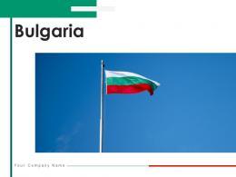 Bulgaria Country Information Flag Design Political Map