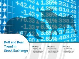 Bull And Bear Trend In Stock Exchange