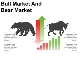 Bull Market And Bear Market Good Ppt Example