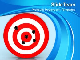 bullet_hole_on_target_business_powerpoint_templates_ppt_themes_and_graphics_Slide01