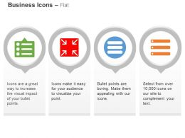 Bullet Points Indication Record Business Management Agenda Ppt Icons Graphics