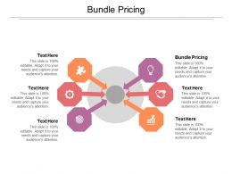 Bundle Pricing Ppt Powerpoint Presentation Professional Deck Cpb