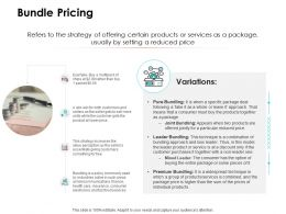 Bundle Pricing Ppt Powerpoint Presentation Professional Show