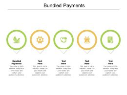Bundled Payments Ppt Powerpoint Presentation Inspiration Demonstration Cpb