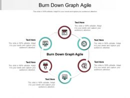 Burn Down Graph Agile Ppt Powerpoint Presentation Gallery Graphics Design Cpb